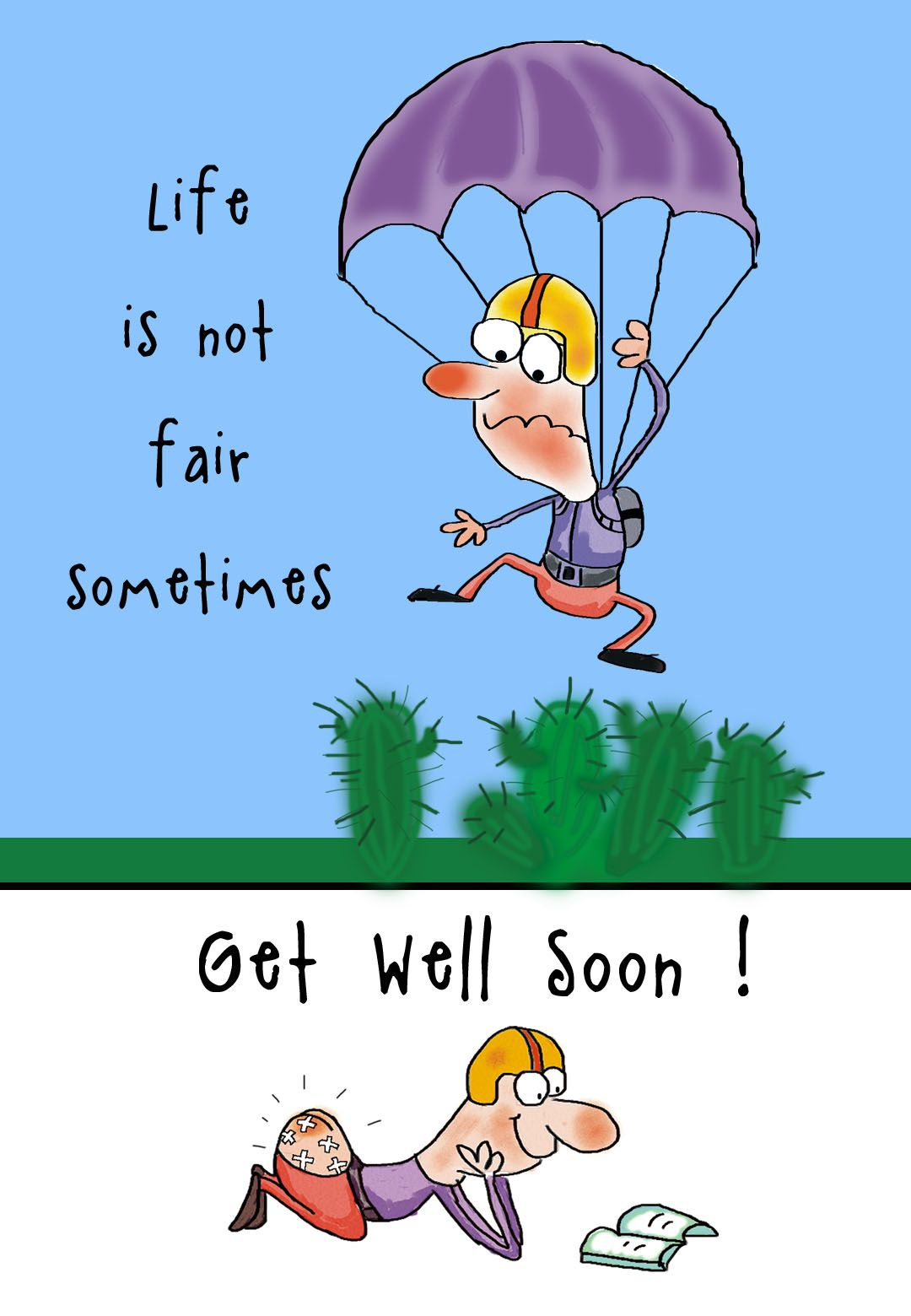 Free Printable Get Well Soon Greeting Card | Just Cute! - Free Printable Get Well Cards
