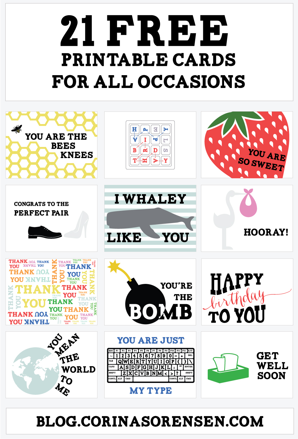 Free Printable Greeting Cards For All Occasions | Download Them Or Print - Free Printable Cards For All Occasions