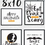 Free Printable Halloween Decorations To Spruce Up Your Holiday   Free Printable Halloween Party Decorations