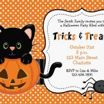 Free Printable Halloween Invitations | Free Printable Birthday   Free Halloween Birthday Invitation Templates Printable