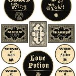 Free Printable Halloween Labels   Potions | Halloween Decor   Free Printable Halloween Labels