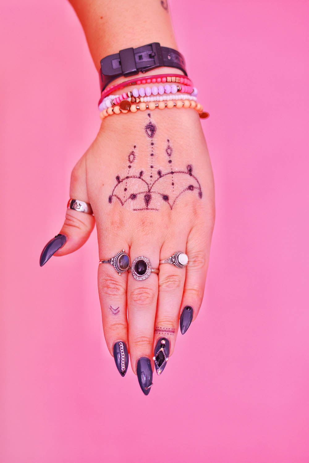 Free Printable Hand Tattoo Design & Tattoo Chat - Mermaid Gossip Blog - Free Printable Henna Tattoo Designs