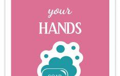 Free Printable Hand Washing Sign For Children – 12.17.ybonlineacess.de • – Osha Signs Free Printable