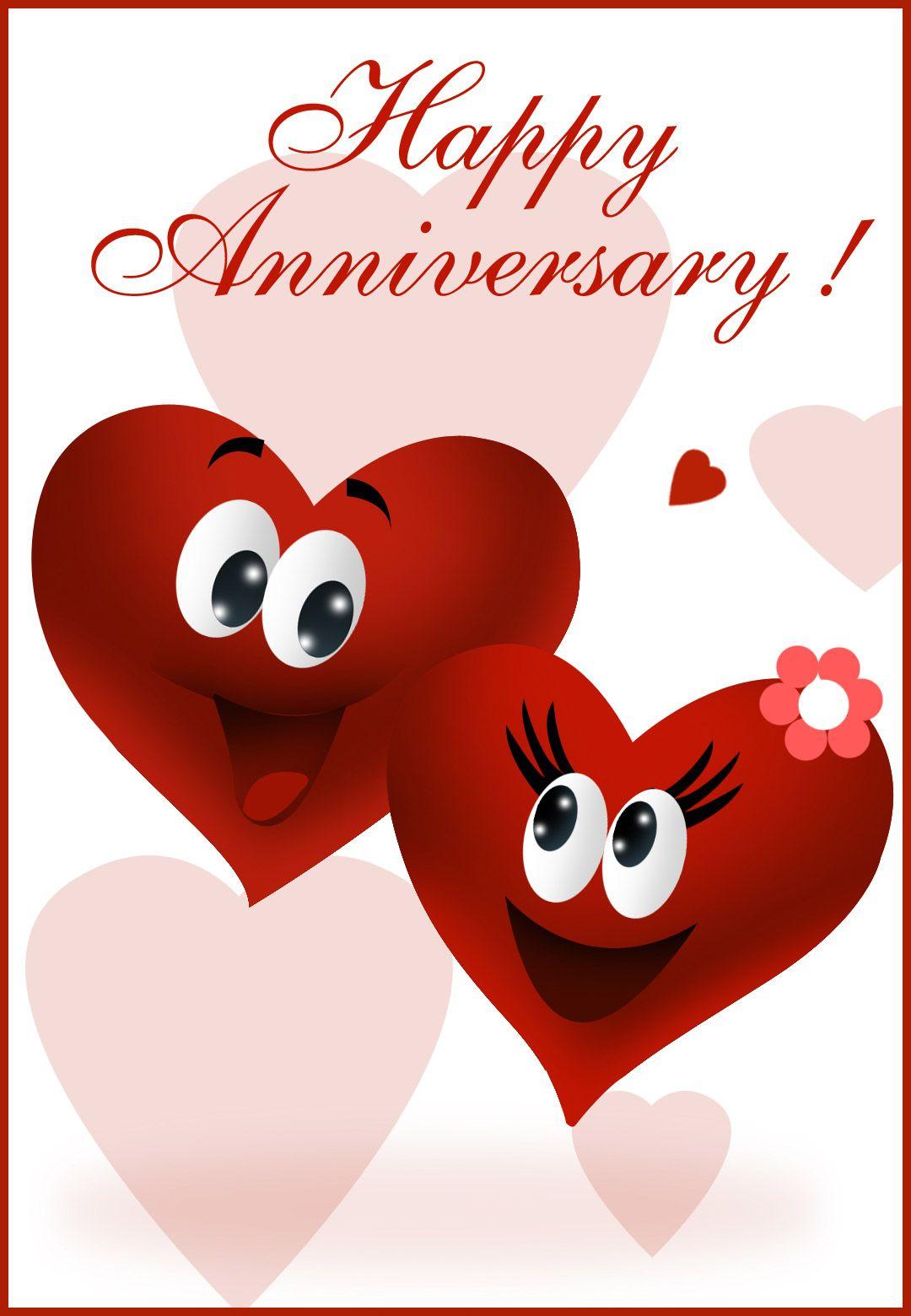 Free Printable Happy Anniversary Greeting Card | Anniversary - Free Printable Love Greeting Cards