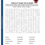 Free Printable Health Worksheets For Middle School | Lostranquillos   Free Printable High School Worksheets