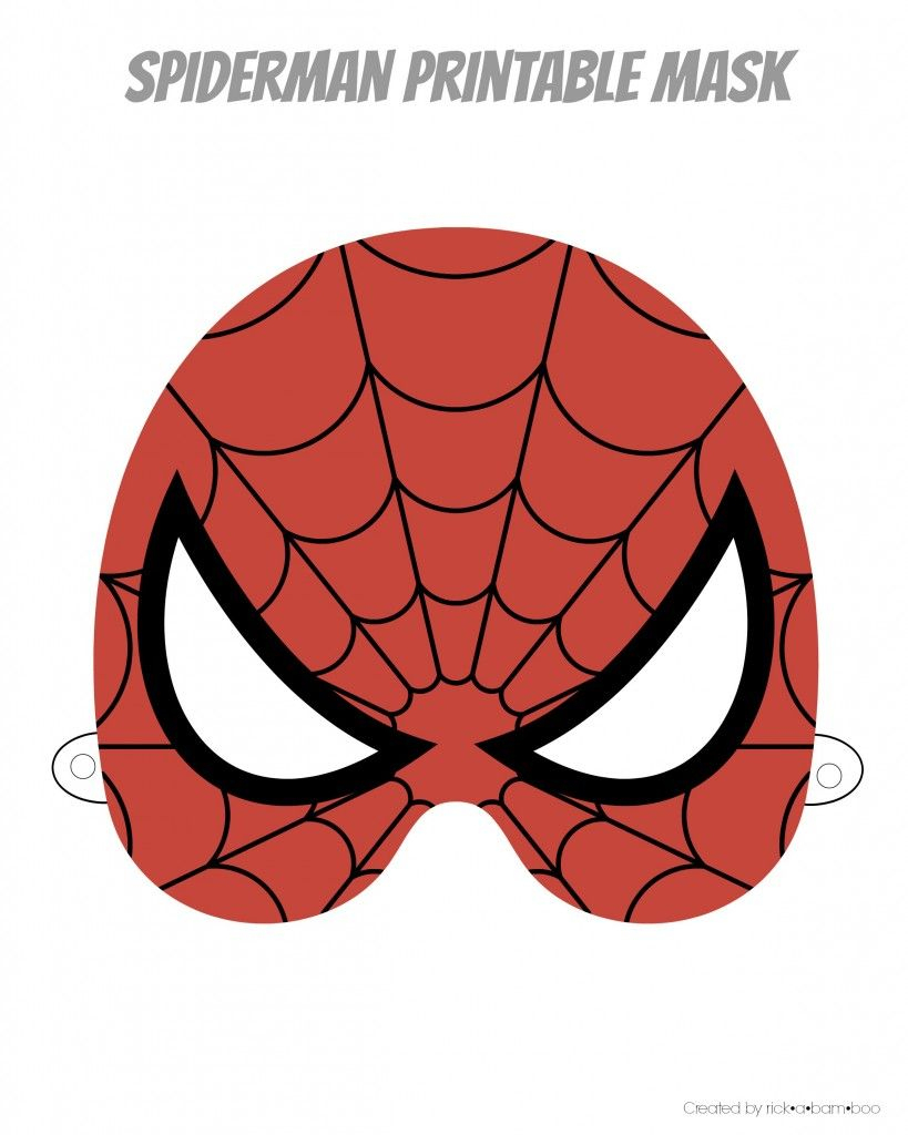 Free Printable Hero Masks | Superhéros | Pinterest | Anniversaire - Free Printable Masks