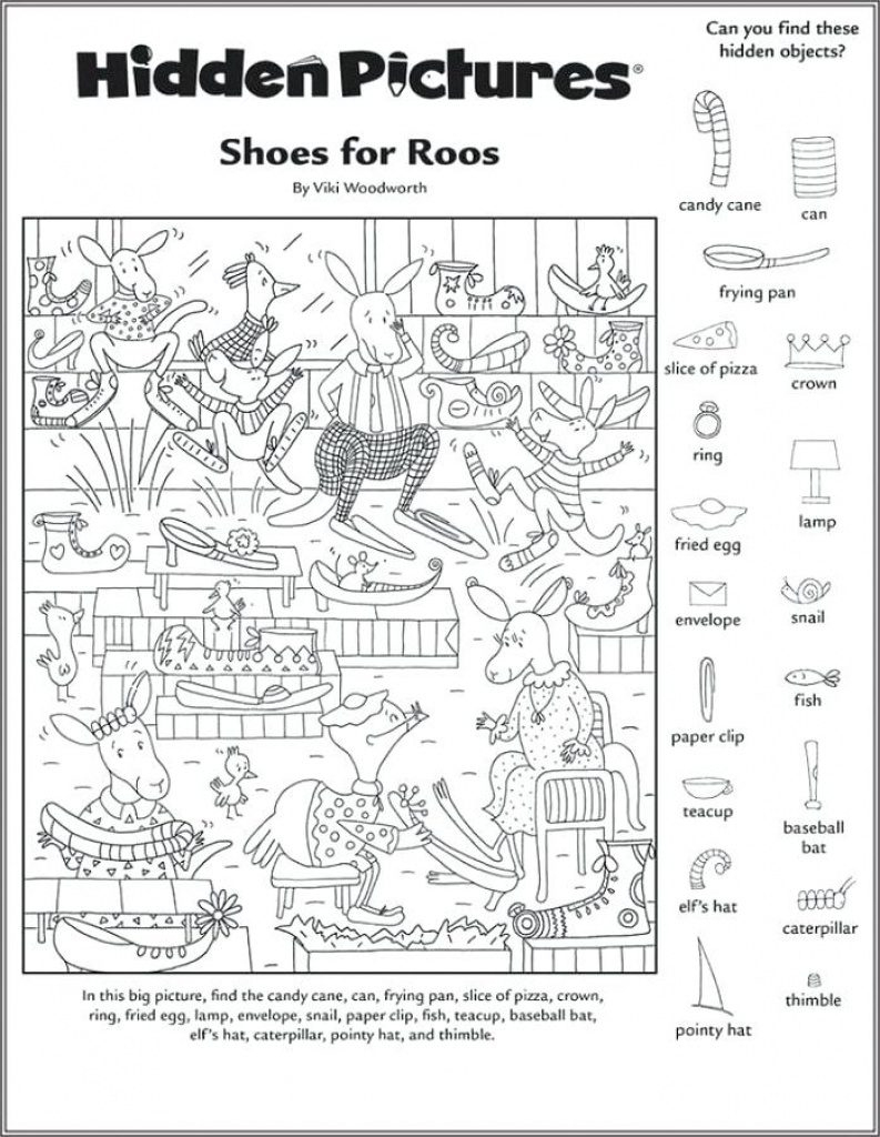 Free Printable Hidden Object Games | Free Printable - Free Printable Hidden Object Games