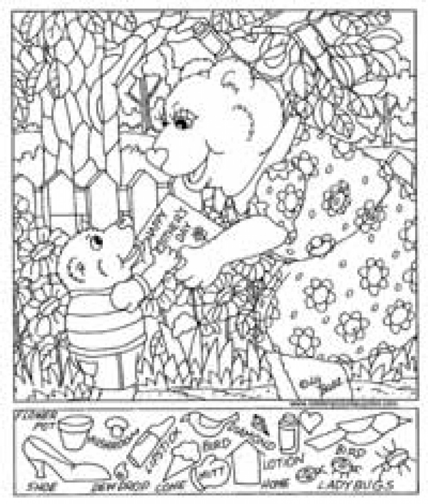 Free Printable Hidden Pictures For Kids   All Kids Network For Free - Free Printable Valentine Hidden Pictures