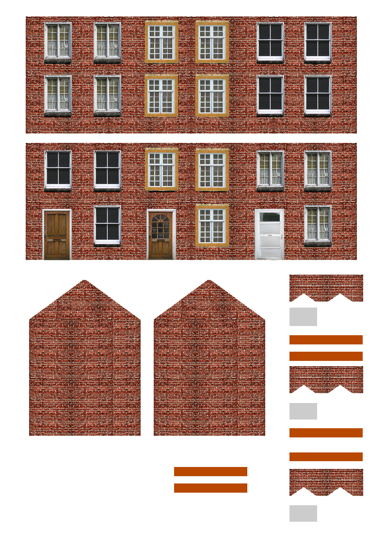 Free Printable Ho Scale Buildings Plans Lzk Gallery | Ho Structures - Free Printable Model Railway Buildings