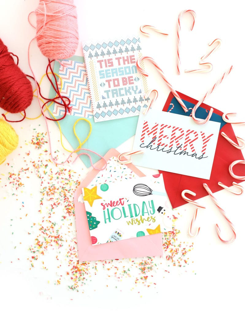 Free Printable Holiday Cards With Canon | Damask Love - Free Printable Holiday Cards
