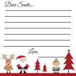 Free Printable Holiday Wish List For Kids   Free Printable Christmas Wish List