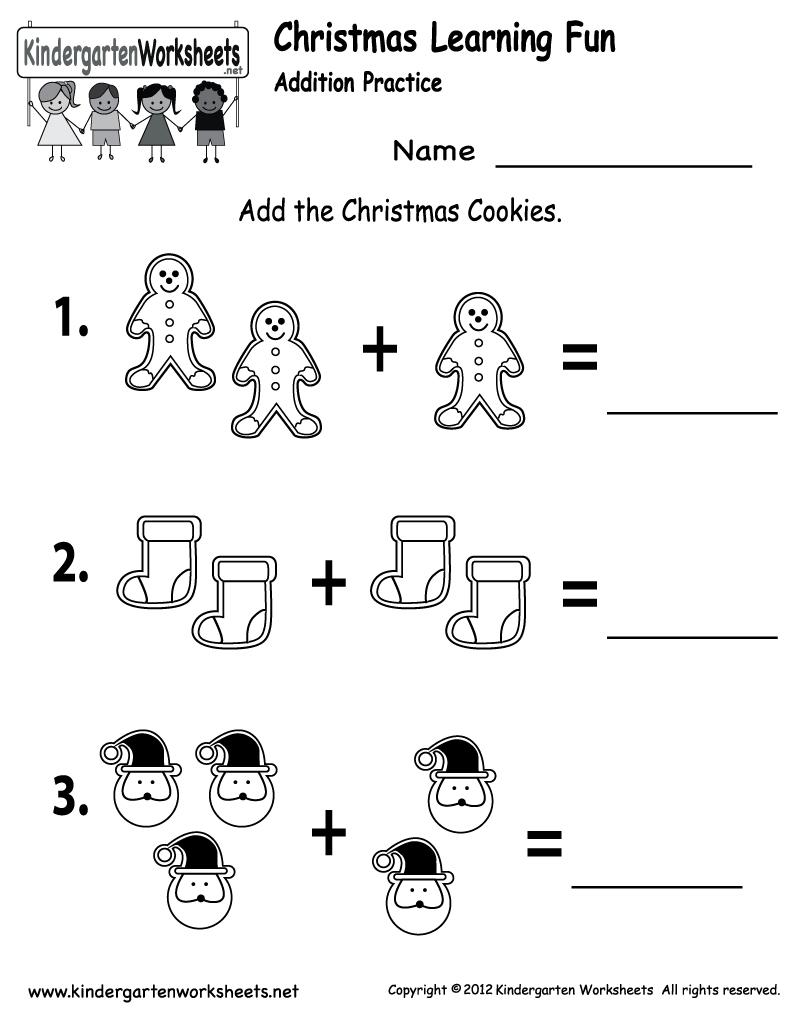 Free Printable Holiday Worksheets | Free Christmas Cookies Worksheet - Free Printable Holiday Worksheets