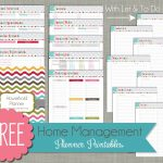 Free Printable Home Organizer Notebook | Download Them Or Print   Free Printable Home Organizer Notebook