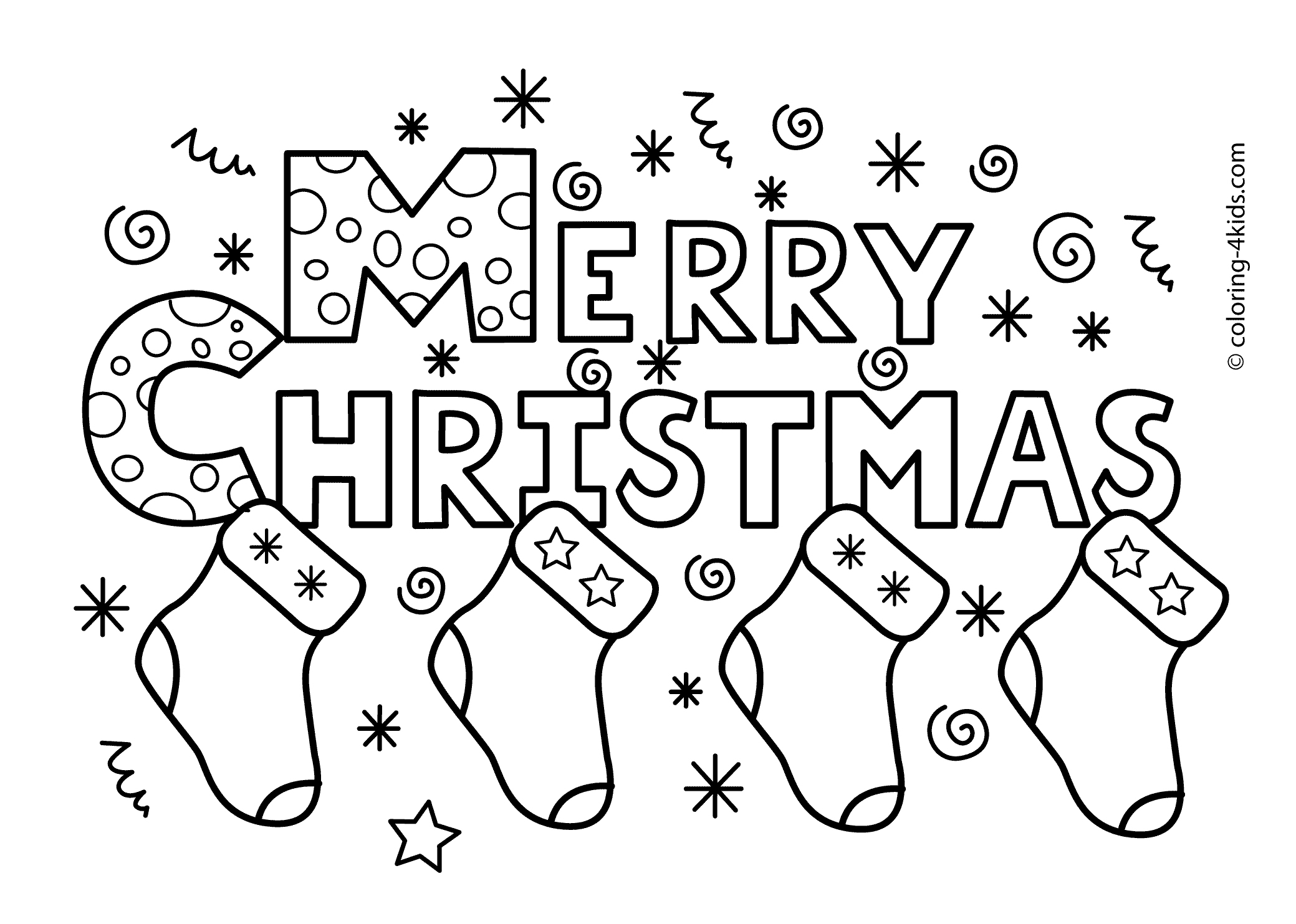 Free Printable Inspirational Coloring Pages - Saglik - Free Printable Christmas Coloring Pages
