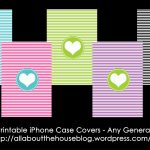 Free Printable Iphone Case Covers   All About Planners   Free Printable Monogram Binder Covers