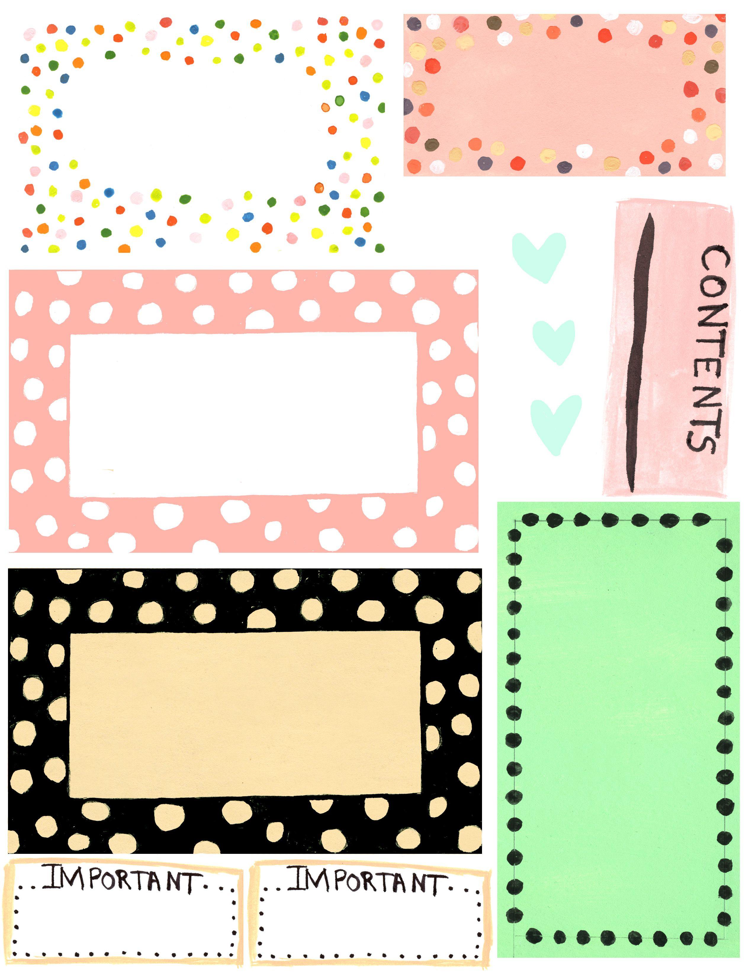 Free Printable Label Design Template Cakepins | Free Printables - Free Editable Printable Labels