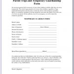 Free Printable Legal Guardianship Forms Florida   Form : Resume   Free Printable Child Guardianship Forms