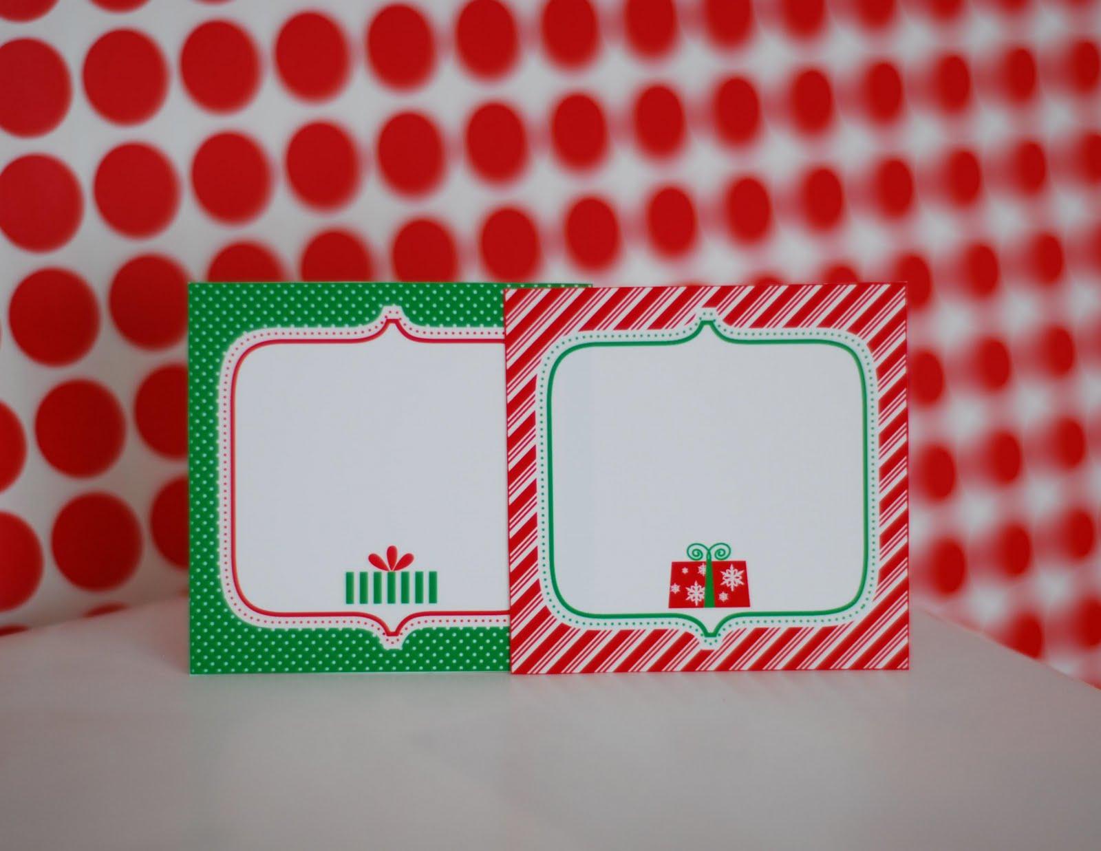 Free Printable: Letter To Santa, Wish List And Gift Tags! - Anders - Free Printable Christmas Food Labels