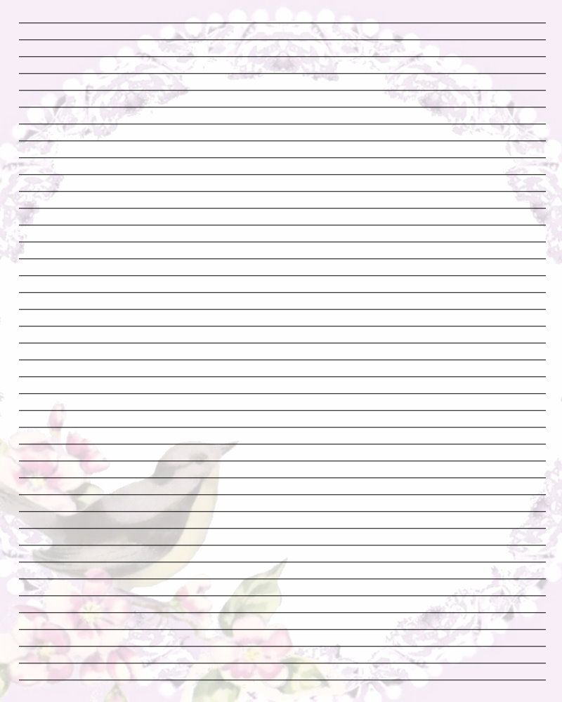 Free Printable Lined Stationary | Printable Writing Paper (67) - Free Printable Writing Paper For Adults