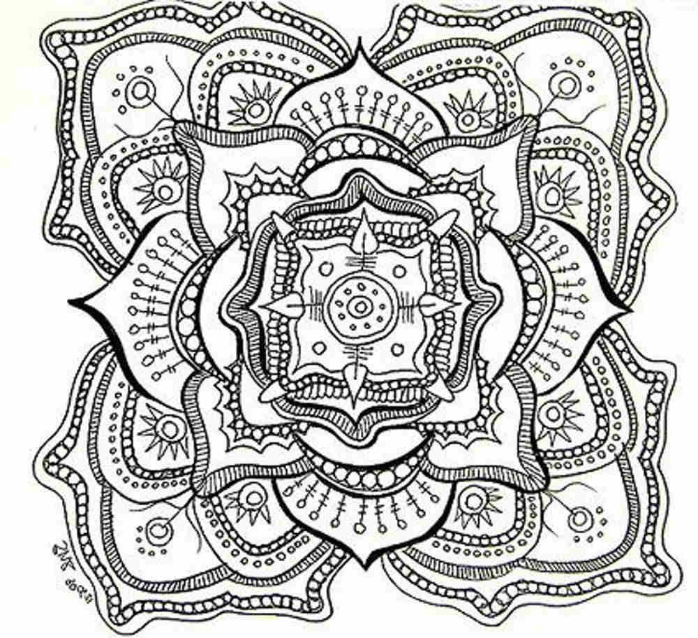 Free Printable Mandala Coloring Pages For Adults | Adult Coloring - Free Printable Mandala Coloring Pages