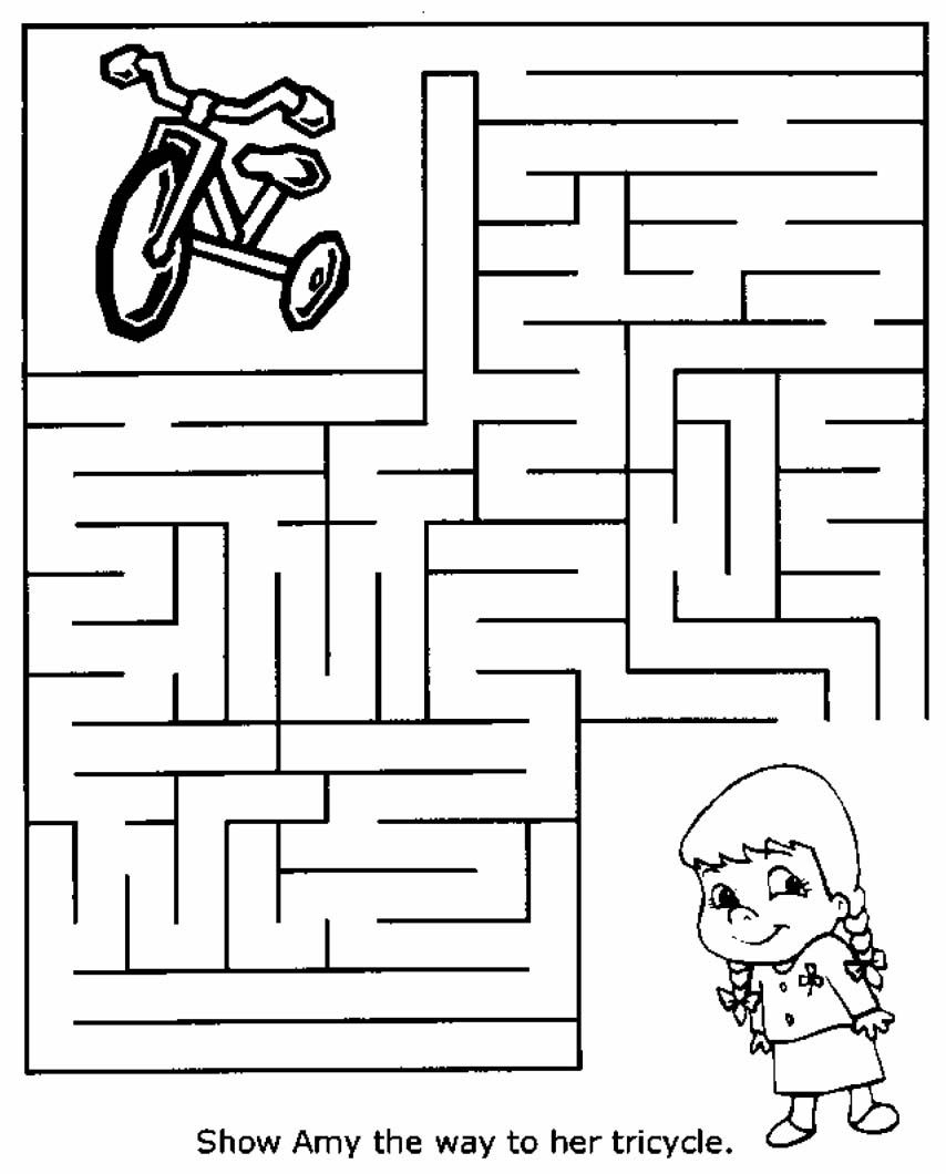Free Printable Mazes For Kids At Allkidsnetwork | Mazes - Free Printable Mazes For Kids
