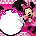 Free Printable Minnie Mouse Birthday Invitations – Bagvania Free   Free Printable Minnie Mouse Invitations