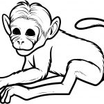 Free Printable Monkey Coloring Pages For Kids   Clip Art Library   Free Printable Monkey Coloring Pages