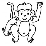 Free Printable Monkey Coloring Pages For Kids | Color Pages   Free Printable Monkey Coloring Sheets