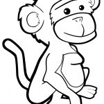 Free Printable Monkey Coloring Pages For Kids | Coloring Book   Free Printable Monkey Coloring Pages