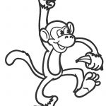 Free Printable Monkey Coloring Pages For Kids | Cool2Bkids   Free Printable Monkey Coloring Sheets