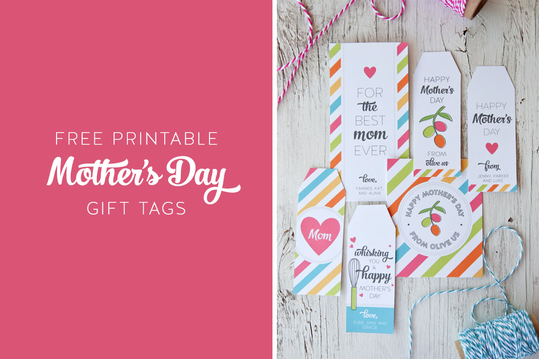 Free Printable Mother's Day Gift Tags | The Little Umbrella - Free Printable Mothers Day Gifts