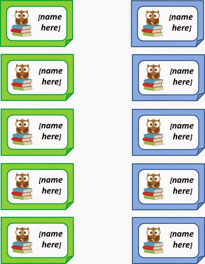 Free Printable Name Tags | Owl Printables | Name Tags, Owl Name Tags - Free Printable Name Tags For Students