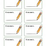 Free Printable Names Free Printable Name Tags Template Free   Free Printable Name Tags For Preschoolers