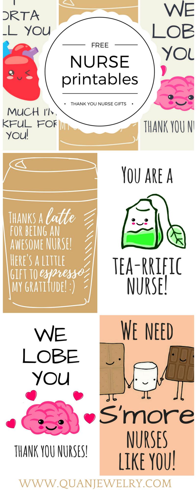 Free Printable Nurse Appreciation Thank You Cards | Gifts For Nurses - Nurses Day Cards Free Printable
