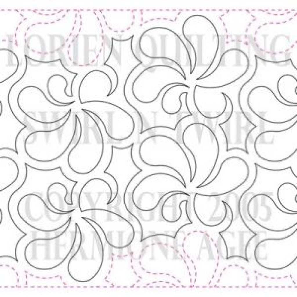 Free Printable Pantograph Patterns | Free Printable - Free Printable Pantograph Patterns