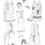 Free Printable Paper Doll Coloring Pages For Kids | Coloring   Printable Paper Dolls To Color Free