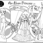 Free Printable Paper Doll Coloring Pages For Kids Pertaining To   Printable Paper Dolls To Color Free