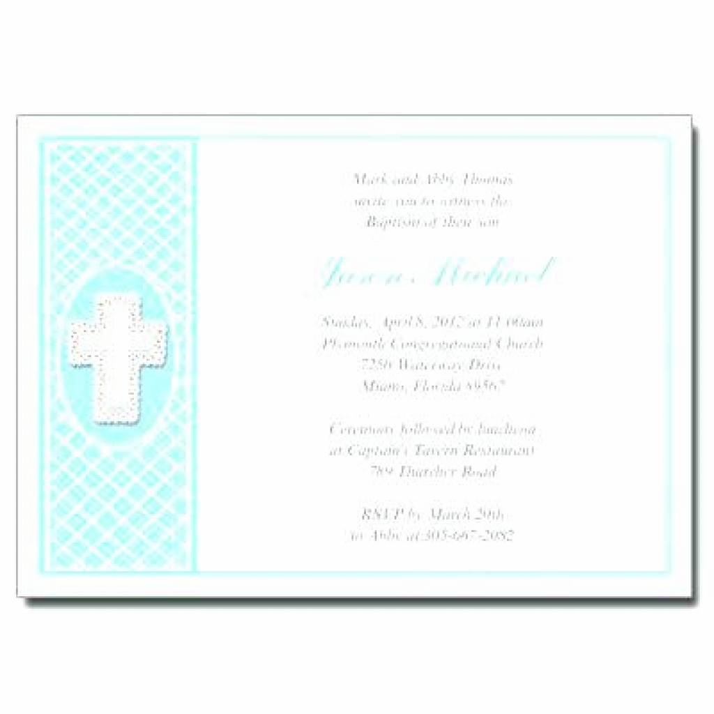 Free Printable Personalized Baptism Invitations | Free Printable - Free Printable Personalized Baptism Invitations