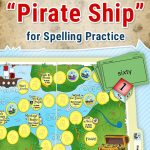 Free Printable Pirate Themed File Folder Game To Practice Spelling   Free Printable Folder Games