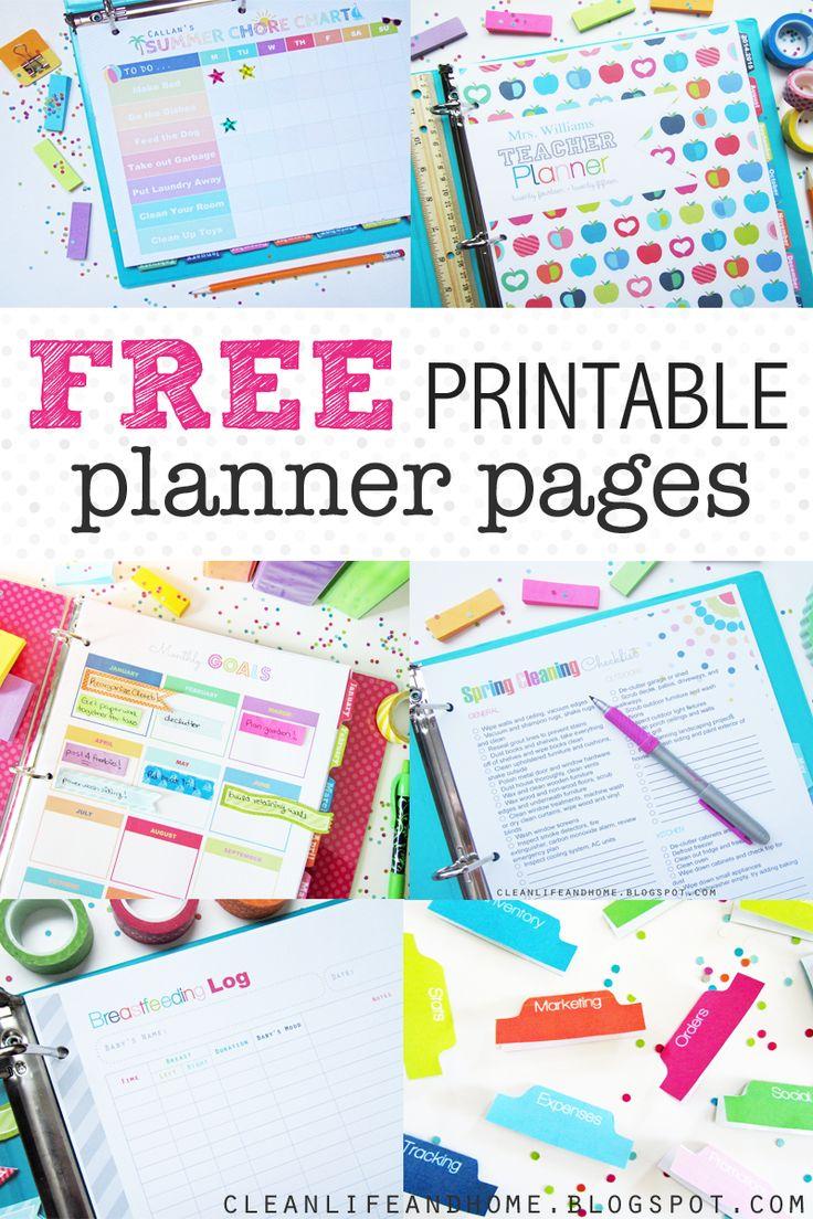Free Printable Planners 2017 - 1.11.hus-Noorderpad.de • - Free Printable Agenda 2017