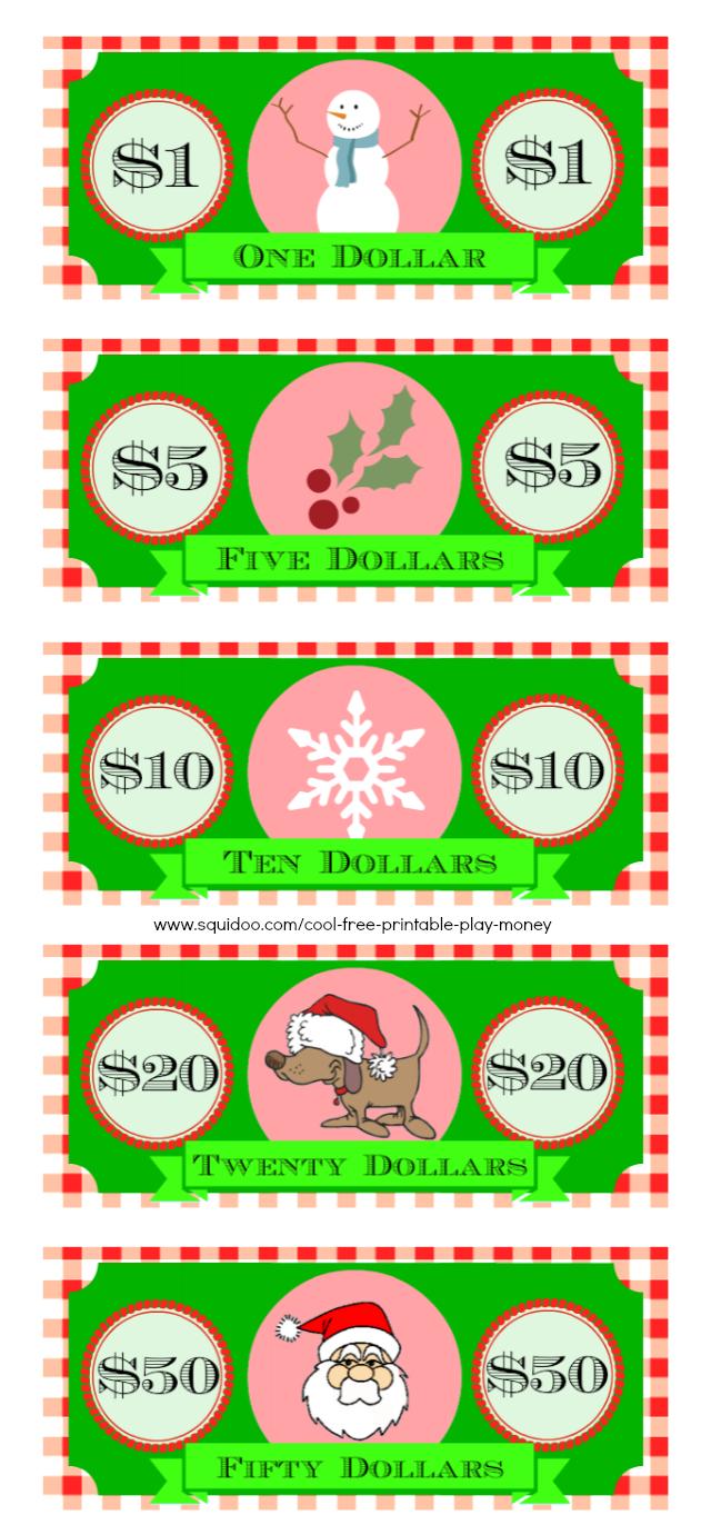 Free Printable Play Money Kids Will Love - Free Printable Fake Money That Looks Real