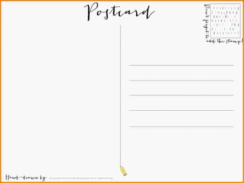 Free Printable Postcard Template 5×7 Avery Templates For Kids 7×5 - Free Printable Postcard Template