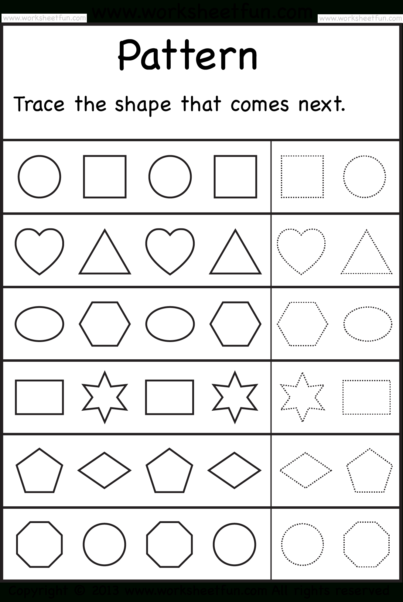 Free Printable Preschool Worksheets | Arts And Crafts | Kindergarten - Free Printable Preschool Worksheets