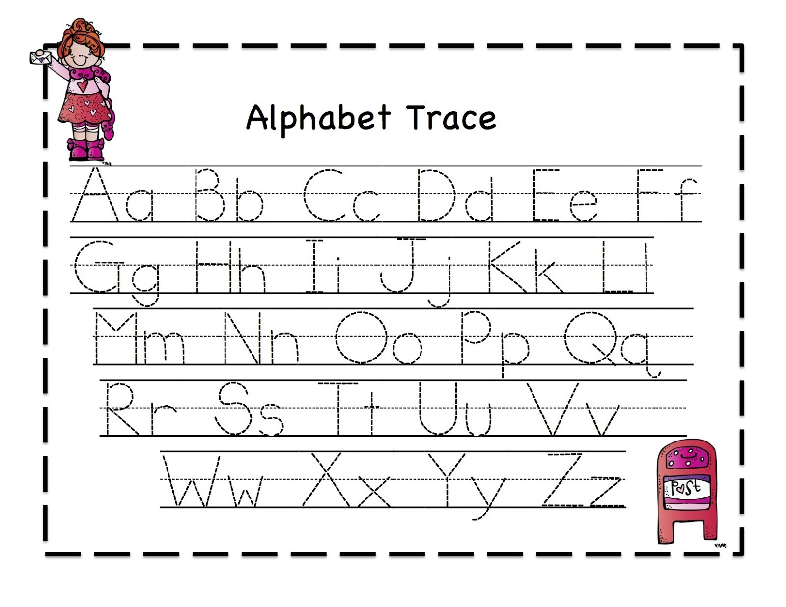 Free Printable Preschool Worksheets Tracing Letters To Download - Free Printable Preschool Worksheets