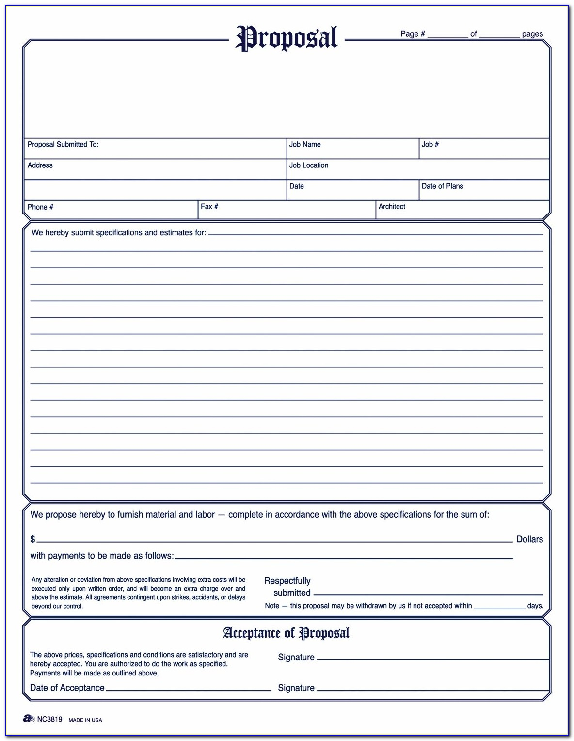 Free Printable Proposal Forms - Form : Resume Examples #yrlw05Appd - Free Printable Proposal Forms