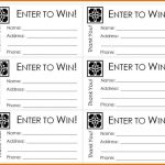 Free Printable Raffle Ticket Template Raffle Ticket Templates   Free Printable Raffle Tickets
