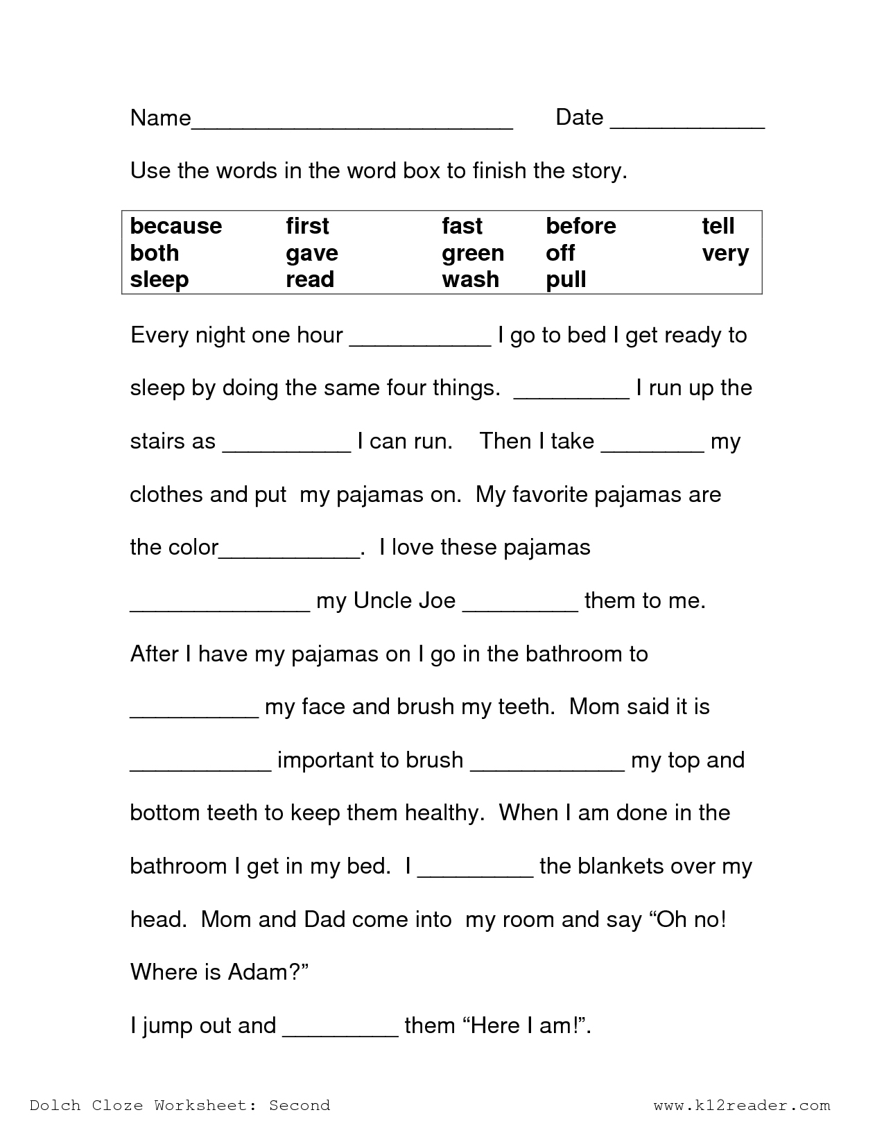 Free Printable Reading Comprehension Worksheets 3Rd Grade To Print - Free Printable Reading Comprehension Worksheets For 3Rd Grade