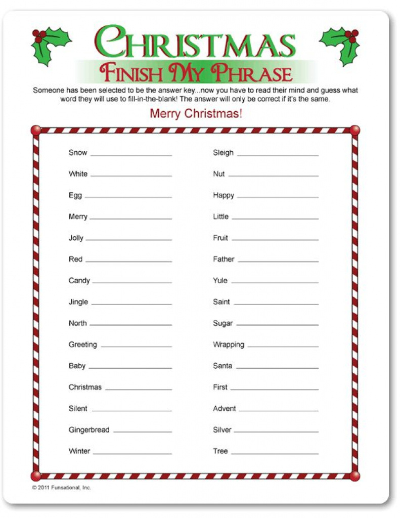 Free Printable Religious Christmas Games For Adults - Printable 360 - Free Printable Religious Christmas Games