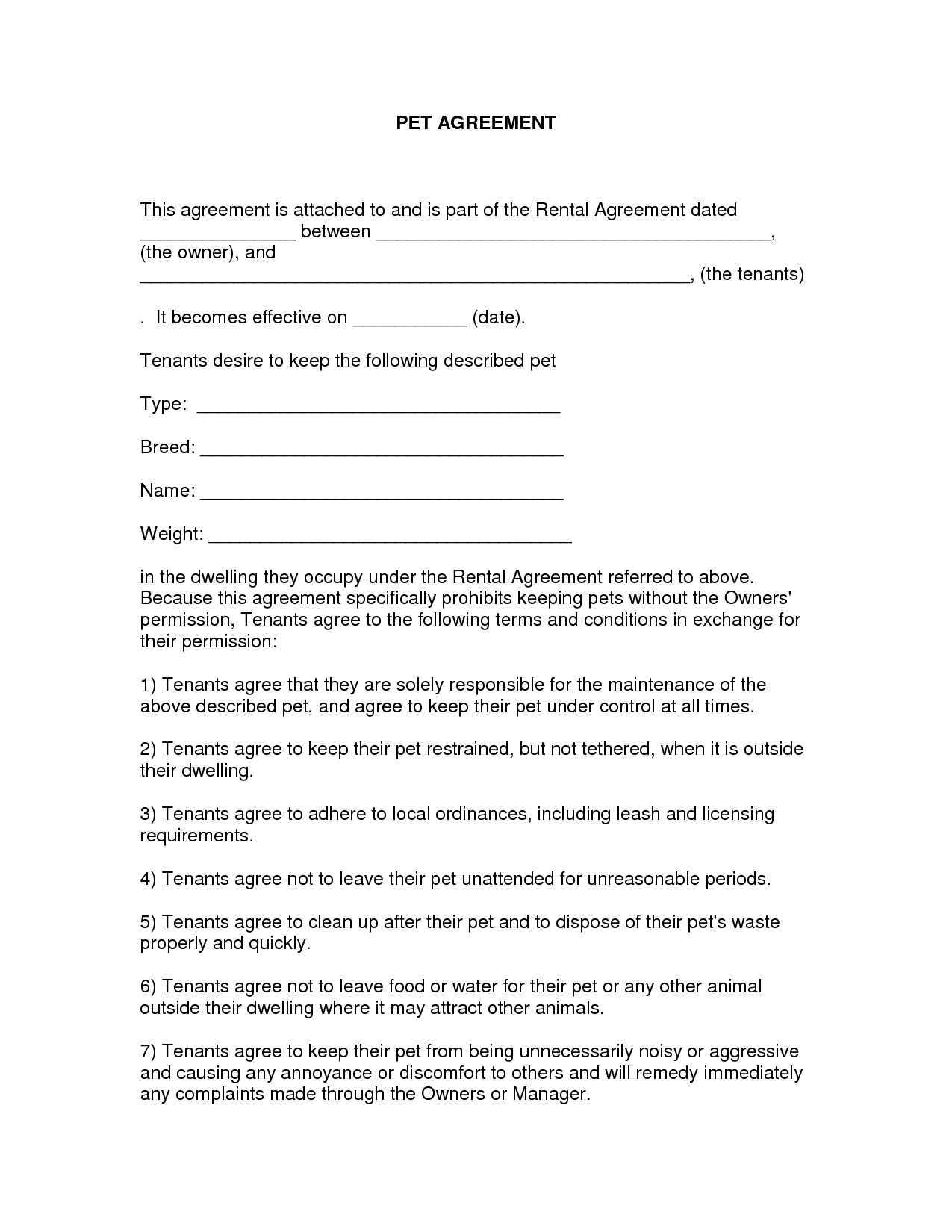 Free Printable Residential Lease Agreement Mi - 7.11.hus-Noorderpad.de • - Free Printable Rental Agreement