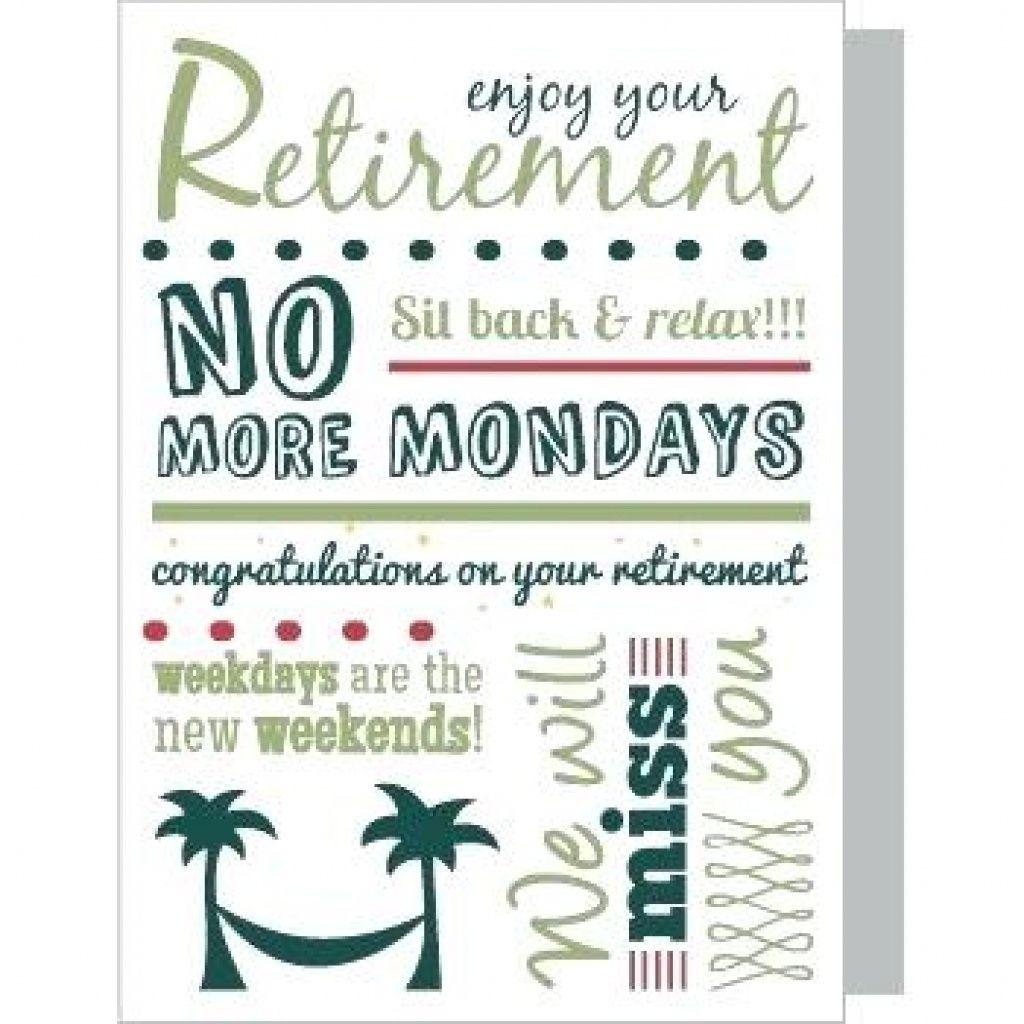 Free Printable Retirement Cards Free Printable - Free Printable Retirement Cards